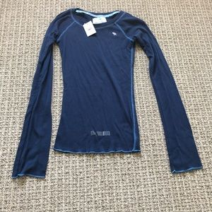 Abercrombie Authentic Vintage Long Sleeve Top